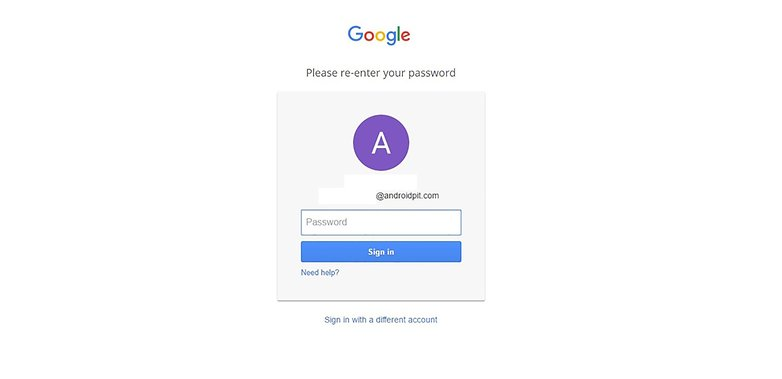Step 3 Google Accounts