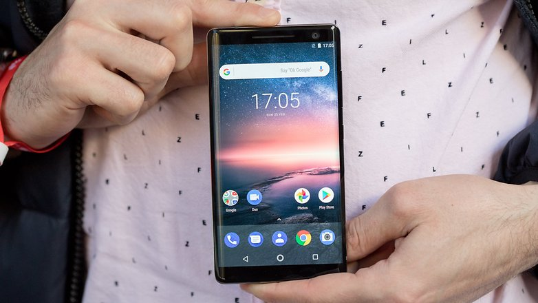 AndroidPIT Nokia 8 Sirocco 7034