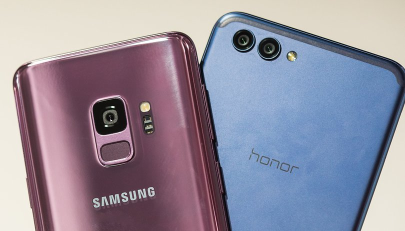 Galaxy S9 vs. Honor View 10 im Vergleich: Doppelt so teuer = doppelt so gut?