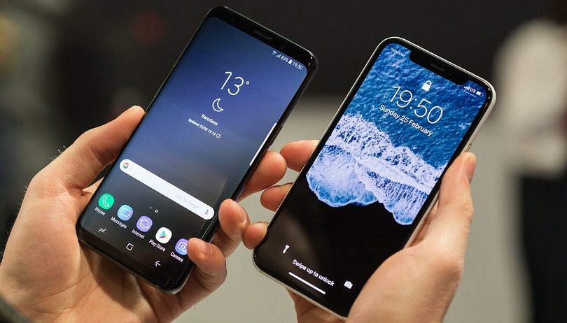 Galaxy S9 Plus vs. iPhone X: a eterna guerra