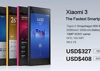 Xiaomi Mi3: the fastest smartphone of all time