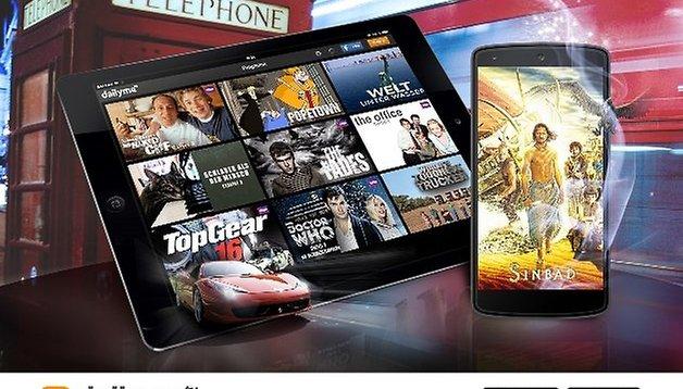 dailyme TV: Filme und Fernsehen kostenlos auf Smartphone und Tablet