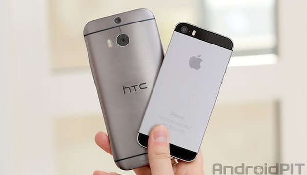 iPhone 5s vs HTC One (M8): the duel of the design elite