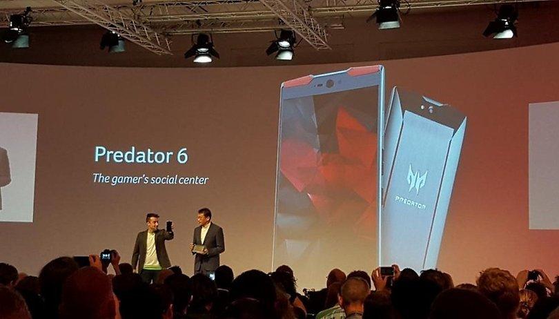 Gaming-Smartphone Acer Predator 6: Außerirdisch und mysteriös