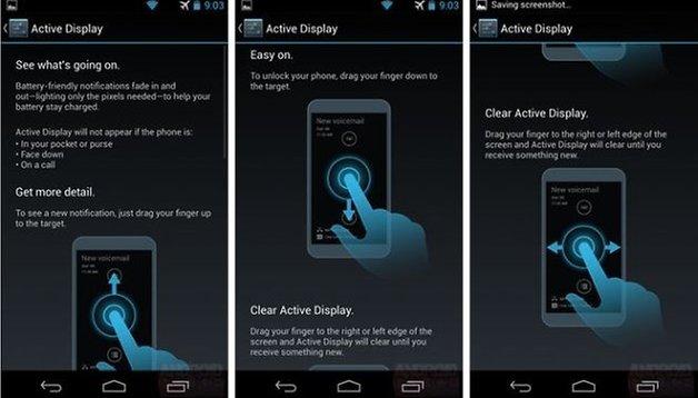 Moto X: novas funções do software em detalhes