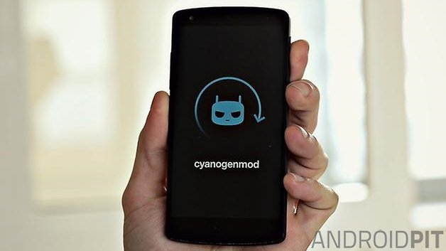 AndroidPIT Nexus5 CyanogenMod Boot new format