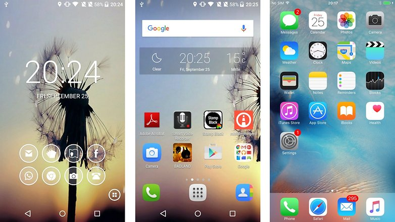 smart launcher android ios