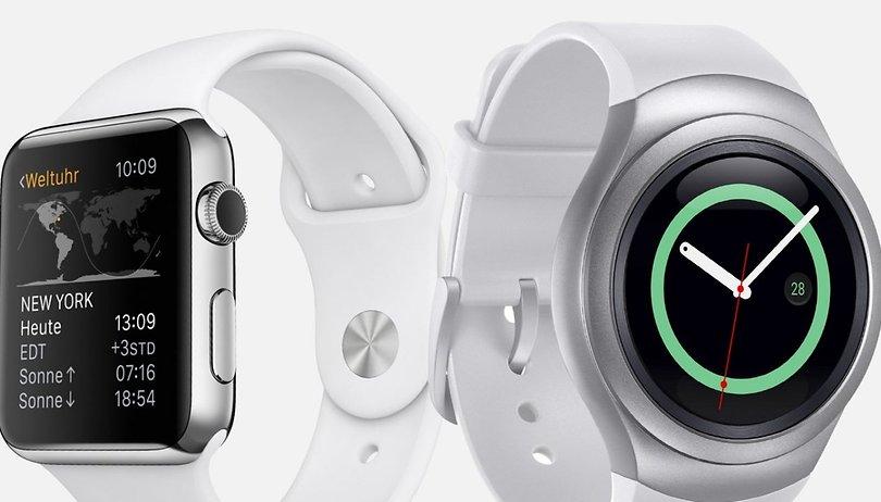 Samsung Gear S2 vs. Apple Watch: Die neue Front in der alten Rivalität