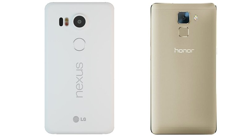 nexus 5x honor 7 back hero 2