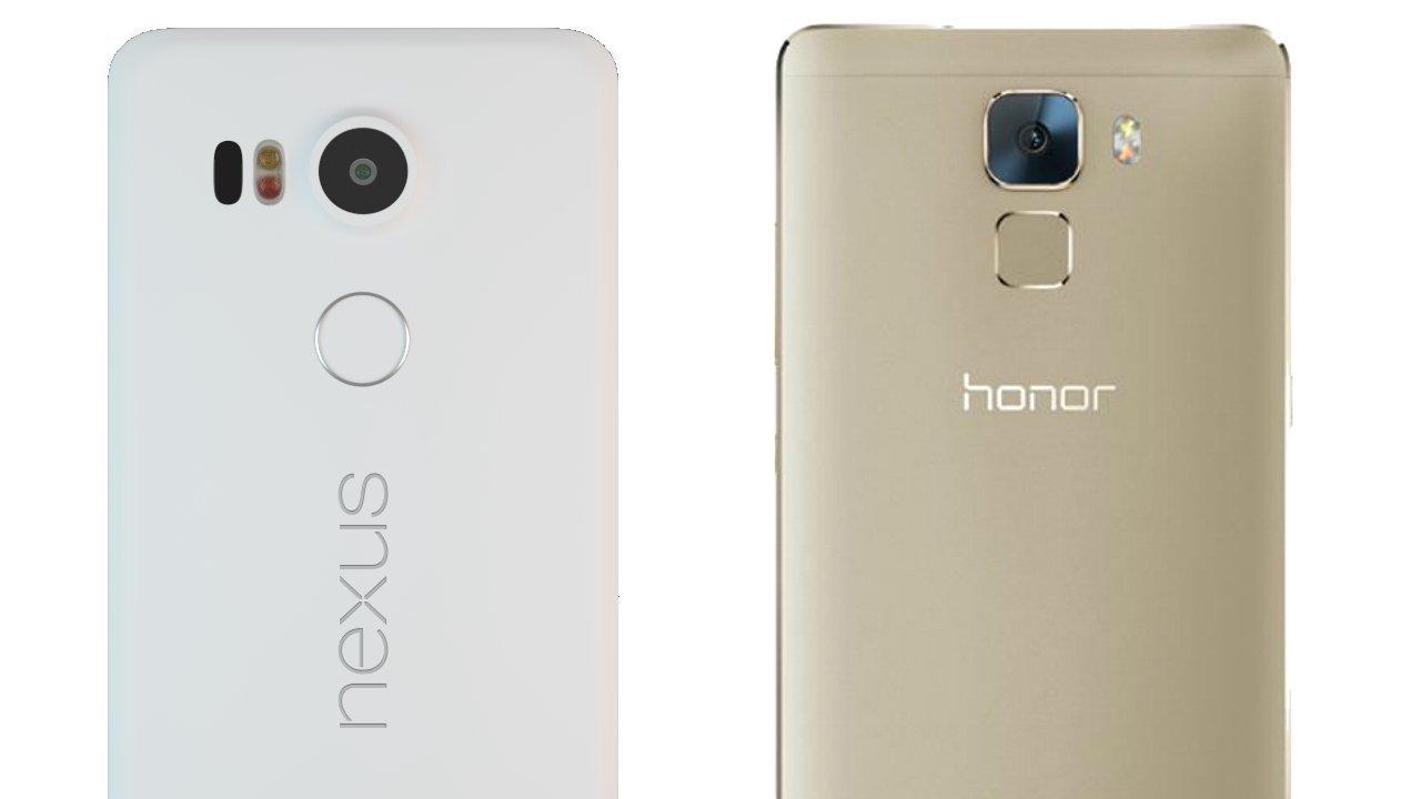 Honor 7 Vs Nexus 5x Quel Smartphone Offre Le Meilleur