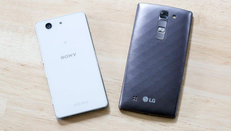 Sony Xperia Z3 Compact vs. LG G4c: Vorbild gegen Möchtegern