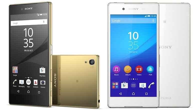 xperia z5 vs xperia z3 plus hero2