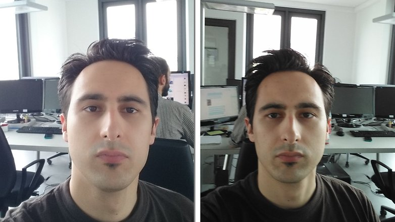 z3 compact g4c selfie