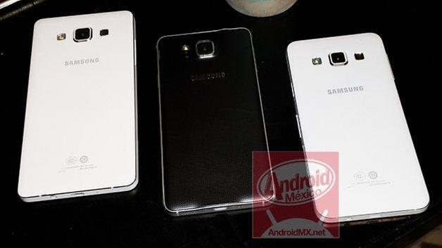 Galaxy A5 Galaxy Alpha Galaxy A3