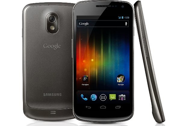 Galaxy Nexus all sides