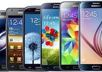 Smartphone-Evolution: Das ist Samsungs Galaxy-S-Reihe