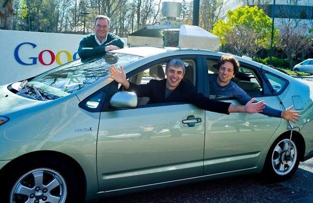 Google Car Prius