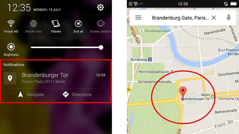 tipps und tricks f r google maps androidpit. Black Bedroom Furniture Sets. Home Design Ideas