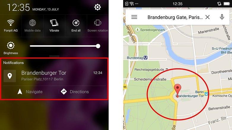 google maps route shareing desktop mobile