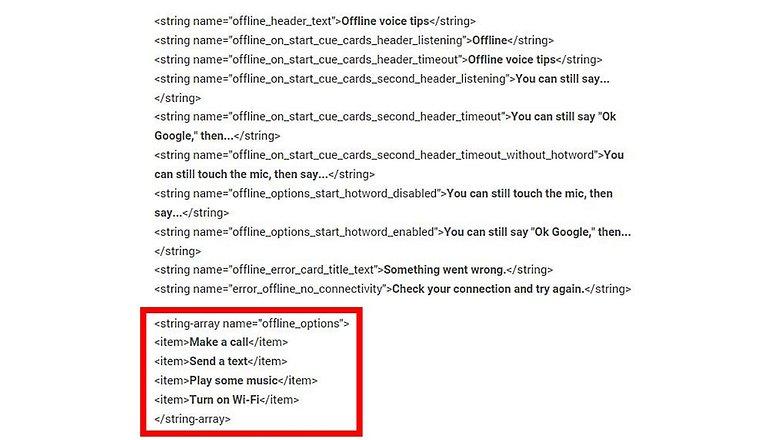 ok google offline sourcecode