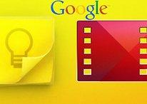 Google Keep, Google Movies y Play Kiosko se actualizan
