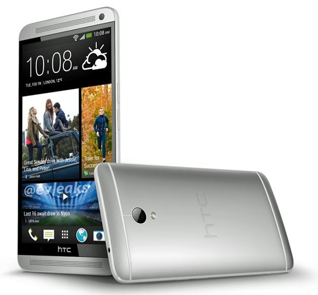 HTC One Max press render