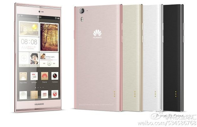 Huawei Ascend P7 surfaces