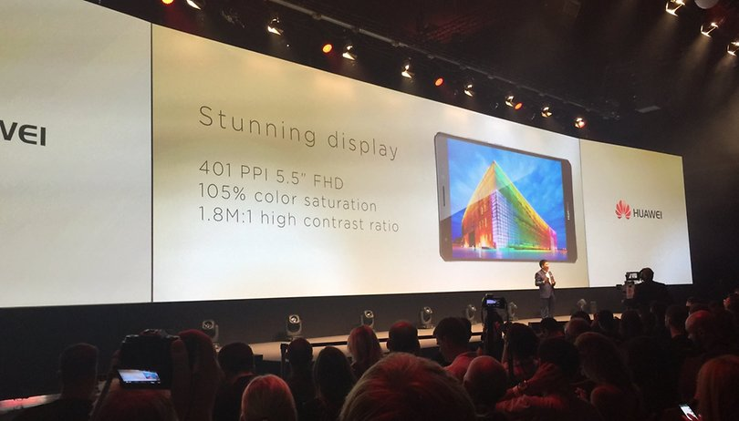 Huawei Mate S launches at IFA 2015 alongside Huawei Watch