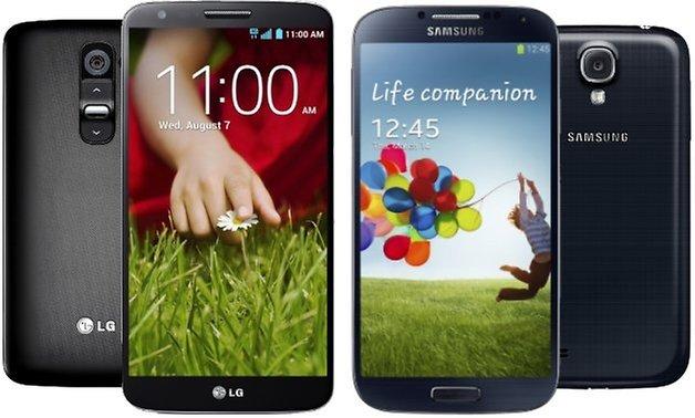 LG G2 Galaxy S4