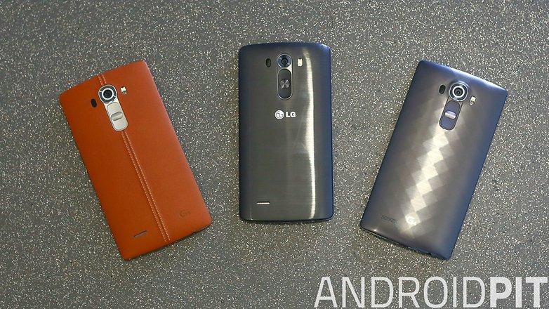 LG G3 VS LG G4 1