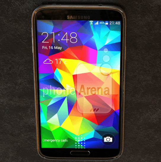 Leaked pictures of the Samsung Galaxy S5 Prime