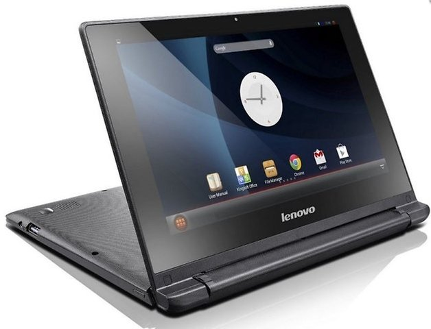Lenovo IdeaPad A10 back