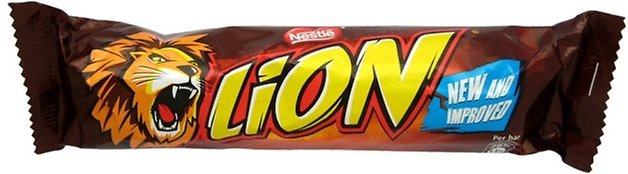 Lion Bar Wrapper Small