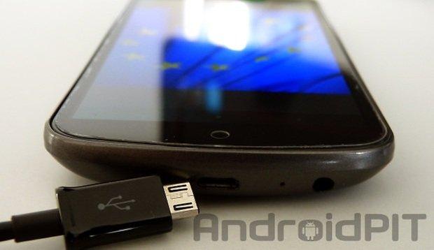 Micro USB Wasserzeichen