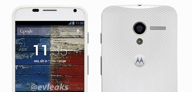 MotoX white teaser