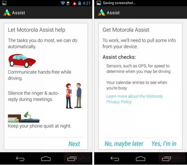 Motorola assist