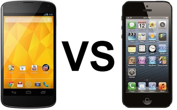 Nexus vs iPhone