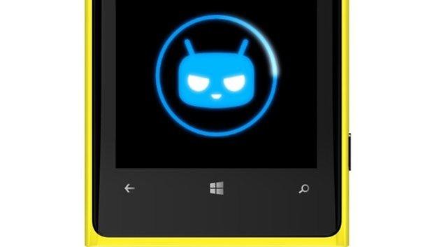 Nokia Lumia cyanogenmod