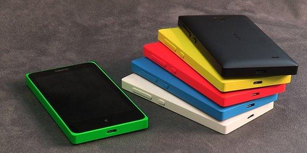 Nokia x stack