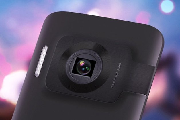 Oppo N1 Lense Close up Press Render