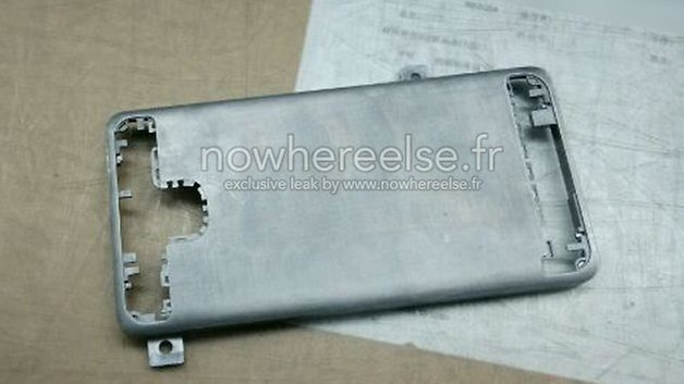 Samsung Galaxy S6 metal chassis 01