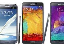 Ranking: todos los modelos de la familia Galaxy Note de peor a mejor