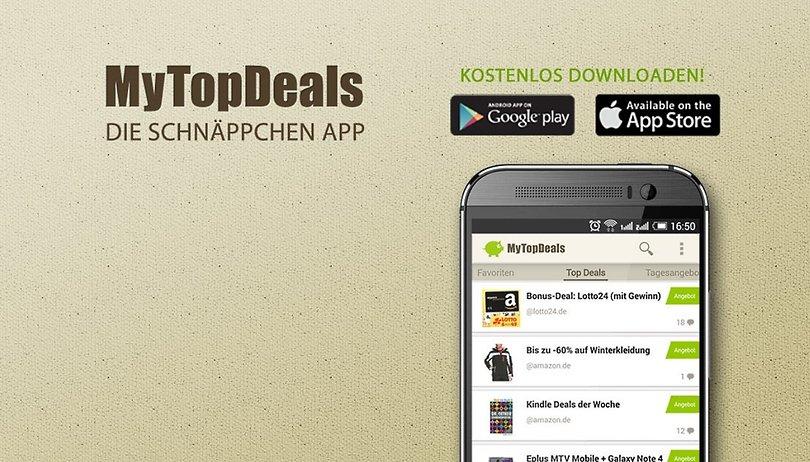 MyTopDeals - Schnäppchen App: Überzeugend auf der ganzen Linie