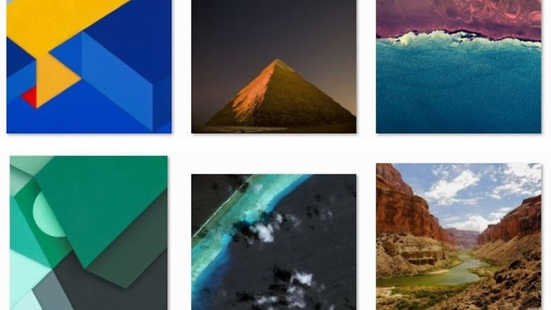 android m wallpaper preview