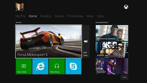 Xbox Home UI EN ROW No3rdParty