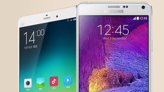 Xiaomi Mi Note Pro galacy note 4