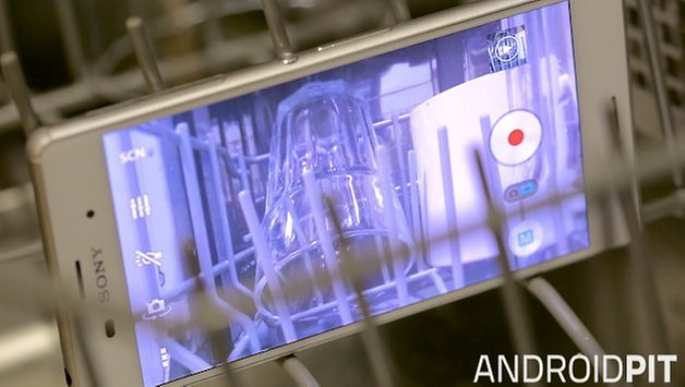 xperia z3 in hot water