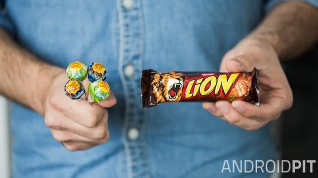 androidl lollipop lion