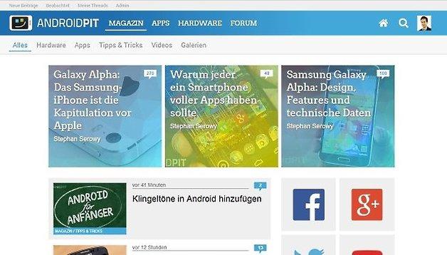 In eigener Sache: Willkommen im neuen AndroidPIT-Design