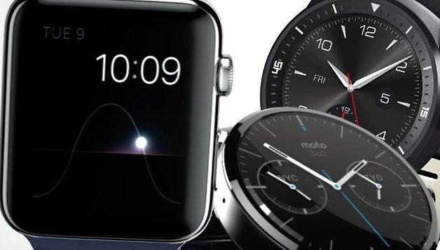 5 Dinge, die sich Android Wear dringend von der Apple Watch abgucken sollte